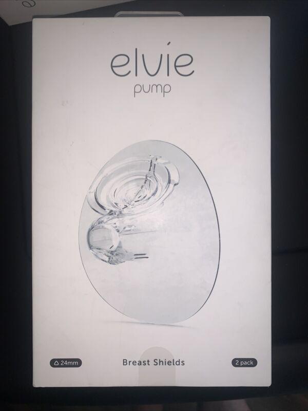 Elvie Pump Breast Shield - 24mm | 2 Pack Nipple Shield FREE SHIPPING