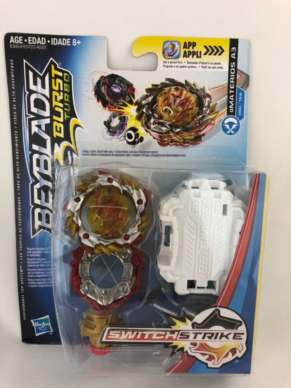 BEYBLADE BURST Switchstrike AMATERIOS A3 Starter Pack NEW 2018 Hasbro