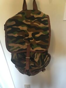 Camouflage book bag