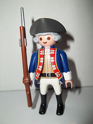 Playmobil,SOLDIER WITH RIFLE,COLONIAL,Series #14 Figure
