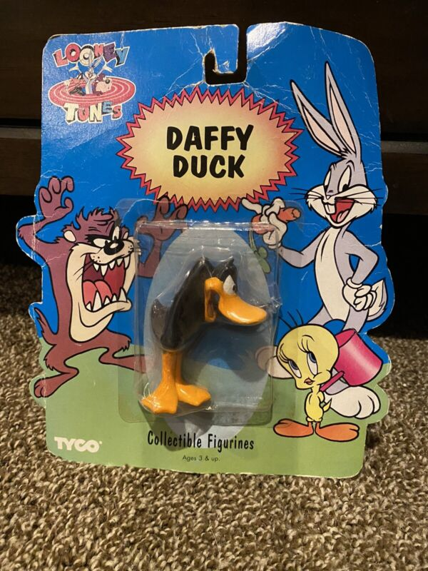 Vintage 1994 Tyco Looney Tunes Daffy Duck Collectible Figurine 8466 Warner Bros