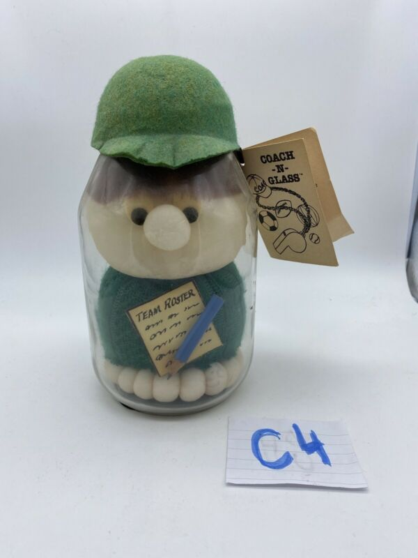 """Vintage 1985's Novelty Gift """"Coach In Glass"""" By Diane Gifts, Inc"""