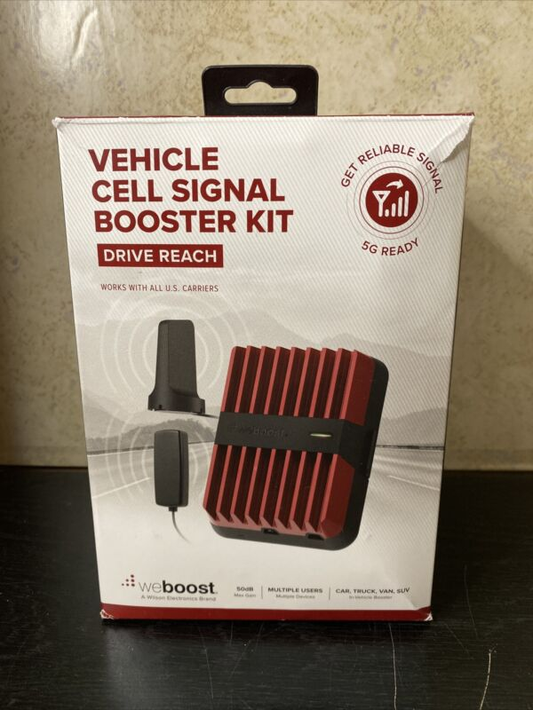WeBoost Drive Reach 4G Cell Phone Signal Booster for Car, Truck & SUV 470154