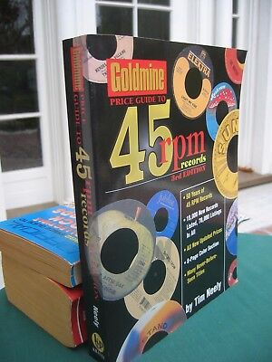 Goldmine Price Guide to 45 rpm records Tim Neely large 2001 PB 8 ½ X 11