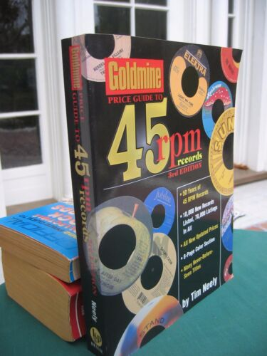 Goldmine Price Guide to 45 rpm records Tim Neely large 2001 PB