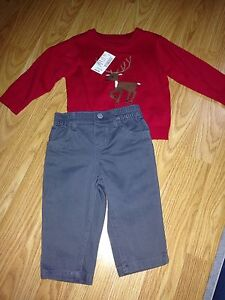 BNWT**6-9 month 2 piece outfits**$10** London Ontario image 2