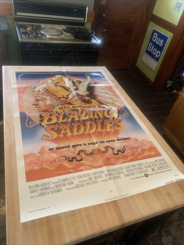 Blazing Saddles Original One Sheet Movie Poster