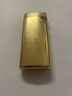 power flame lighter gold vintage