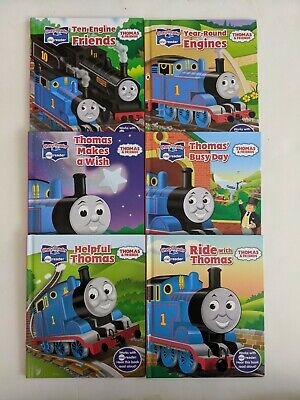 Lot of 6 Thomas the Train & Friends Story Me Reader Hardcover Books Only