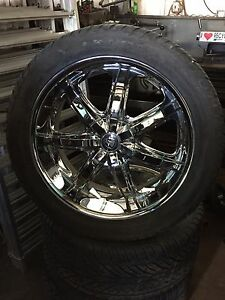 "22"" rims and tires"