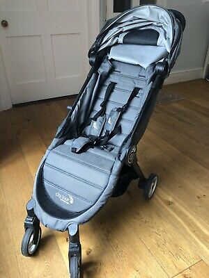 Baby Jogger City Tour Pushchair Compact Charcoal Grey Black Buggy Pram