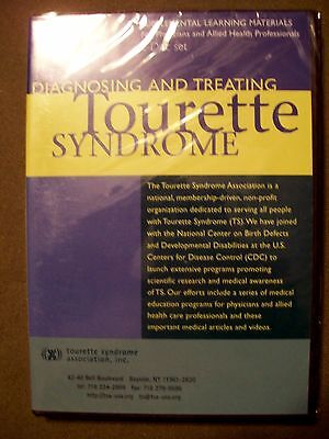 Diagnosing And Treating Tourette Syndrome 2004  2 Dvd Set  Brand New