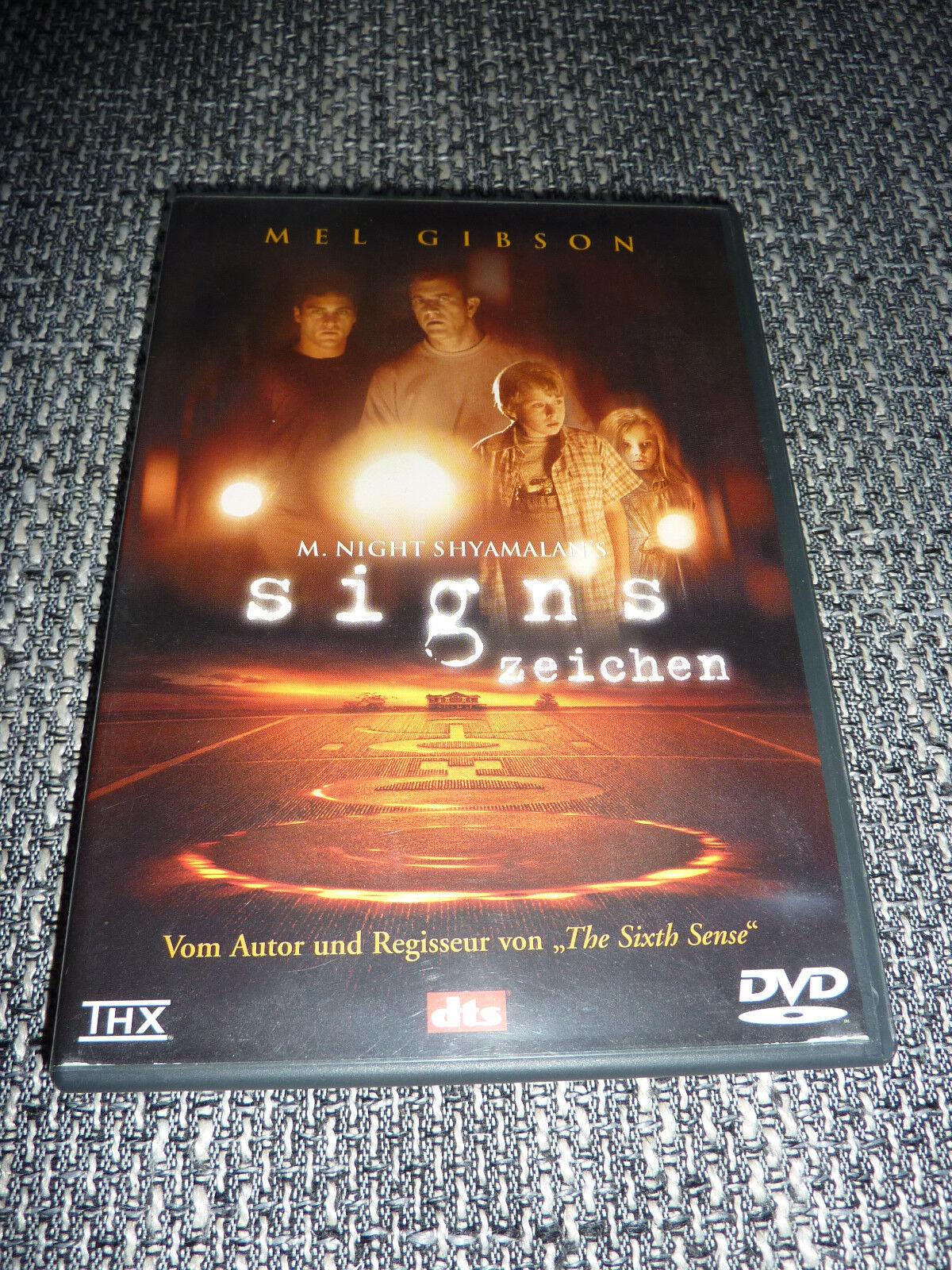 Signs Zeichen DVD M. Night Shyamalan's Horror Film Deutsch/English