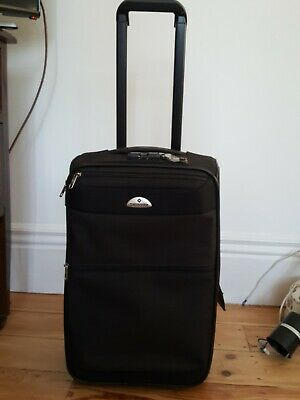 Samsonite 2 Weels Black Luggage Case Extendable Handle