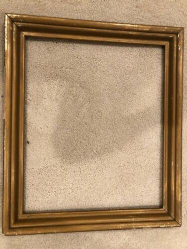 Antique 24x20 c 1930s Gold Gilt Picture Frame b