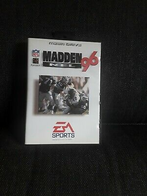Used, MADDEN NFL 96 EA SPORTS MEGA DRIVE for sale  Shipping to Nigeria