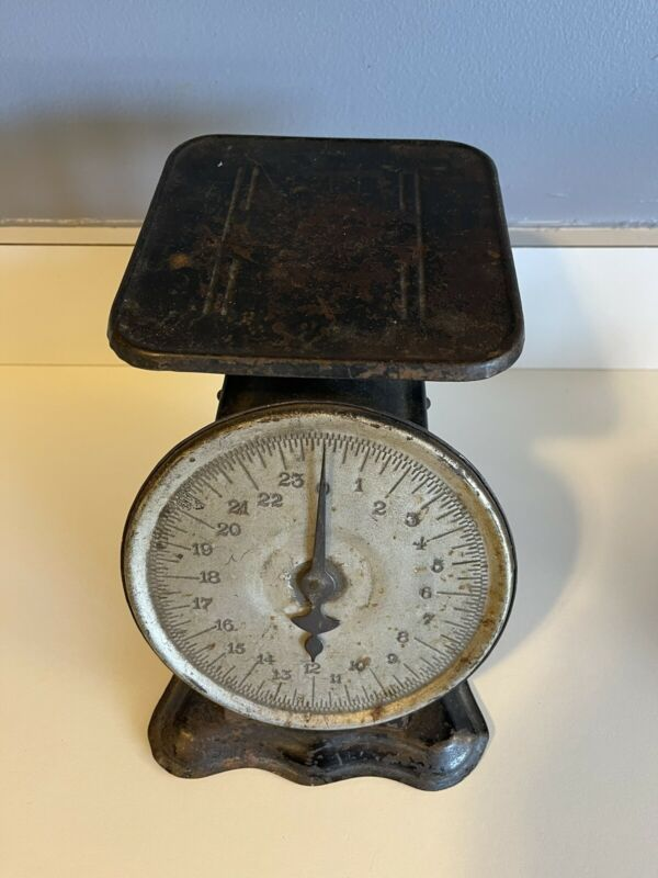 Antique 1906 Perfection Original Slanting Dial Scale Very Rare