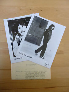 Vintage-George-Harrison-Beatles-Somewhere-In-England-Promotional-Press-Kit-1981