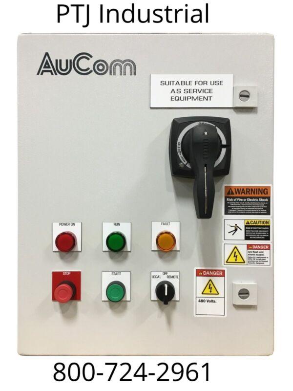 75hp reduced voltage electric motor starter soft start nema3r 460V pump panel