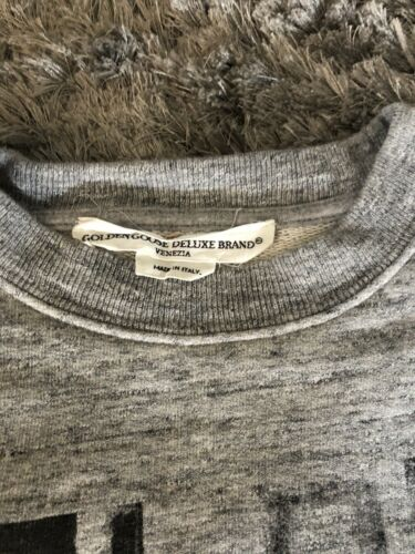 Sweat pull gris golden goose