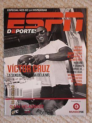 Espn Deportes La Revista Septiembre 2012   Victor Cruz Issue