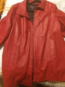 Excellent used Danier leather jacket 3xl