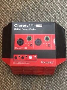 Focusrite Clarett 2 Pre USB Audio Interface