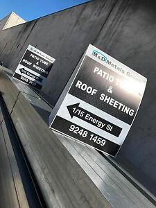 ROOF & WALL SHEETING/PATIO MATERIALS SALE Malaga Swan Area Preview