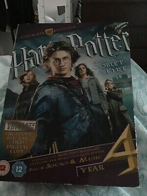 harry potter and the goblet of fire blu ray ultimate  edition very limited editi