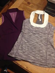 Lululemon size 6 Tanks EUC both for only  $35
