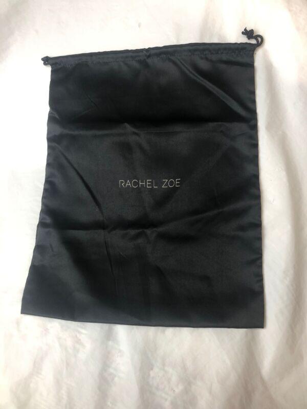 Rachel Zoe Black Drawstring Shoe Dust Cover Bag