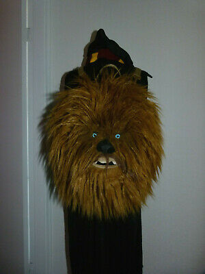 Star Wars Chewbacca Collectable Back Pack Large Size Ofiicial Rucksack