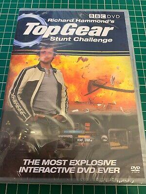 Richard Hammond Top Gear Stunt Challenge BBC DVD New and Sealed