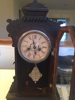 Antique  Ansonia  clocks