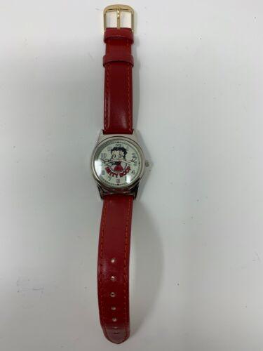 1995 Betty Boop Fossil LI-1351 Easy Read Lady Watch Limited Edition 5376/10,000