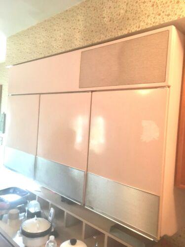 GE Pink Vintage 1955 Wall Hanging refrigerator/freezer