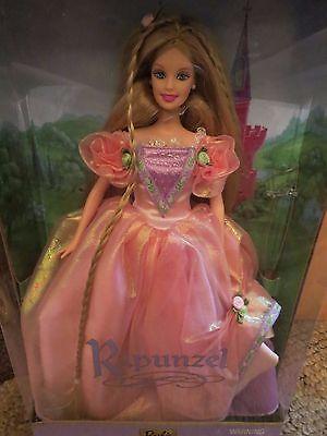 Children's Princess Series Collector's Edition Rapunzel 2001 Barbie Doll