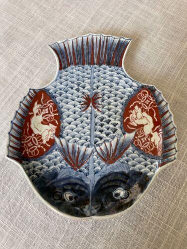 Japanese Imari Fish Plate