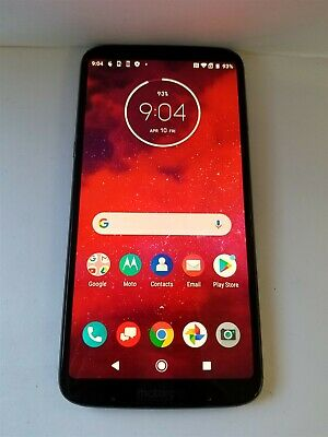 Motorola Moto Z3 64gb Ceramic Black XT1929-17 (Verizon) Discounted NW2855