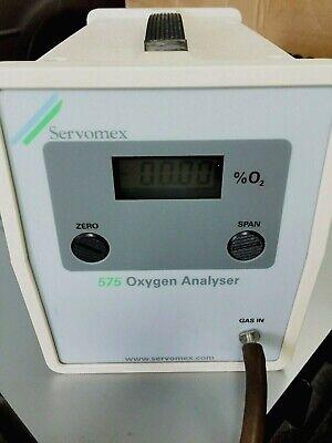 Servomex Paramagnetic O2 Analyzer - Good Working Calibrated - Oxygen Analyzer