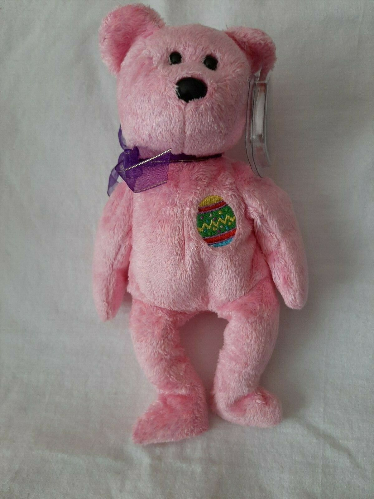 TY Beanie Babies Baby Eggs The Easter Bear Retired MWMT s - $0.99