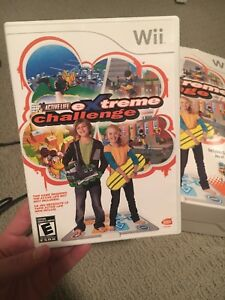 Wii game - Extreme challenge
