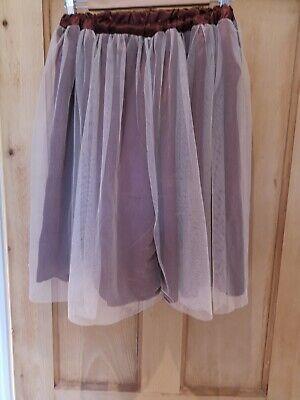 Tutu Overlay Skirt 12 14 Boho Cosplay Lagenlook Gothic Steampunk Halloween