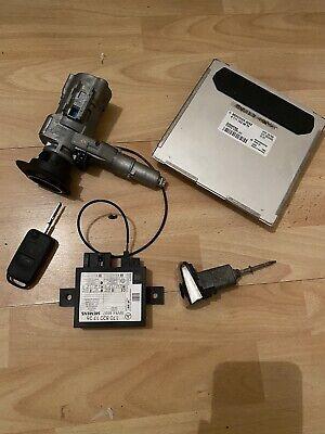 MERCEDES SLK200 R170 ENGINE ECU IGNITION BARREL DOOR LOCK KEY SET A1111530879