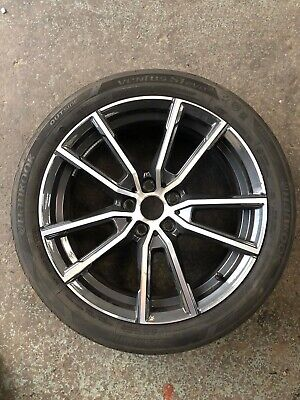 "GENUINE BMW 3 SERIES 791M G20 18"" Alloy Wheels Tyres"