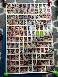 1990/91 O-Pee-Chee OPC Hockey Uncut Sheets Complete Set Stratford Kitchener Area image 7
