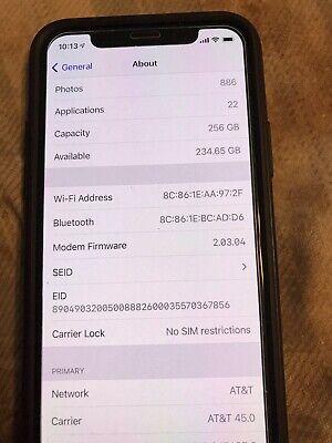 Apple iPhone 11 Pro - 256GB - Gray Unlocked) A2160 (CDMA + GSM)