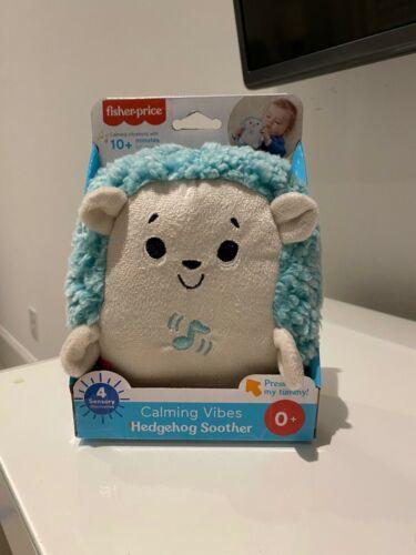 🦔✨Fisher Price Preschool Calming Vibes Hedgehog Soother-Brand New ✨🦔