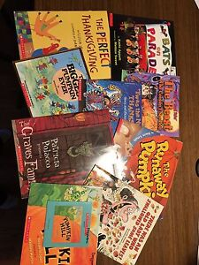 Halloween / Thanksgiving story book collection