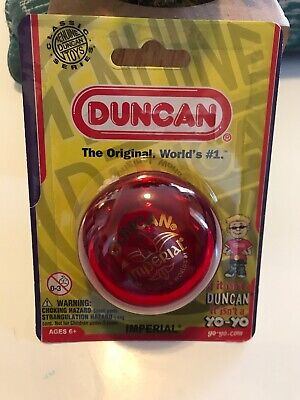 Duncan Imperial Red Yo Yo Original Classic Series
